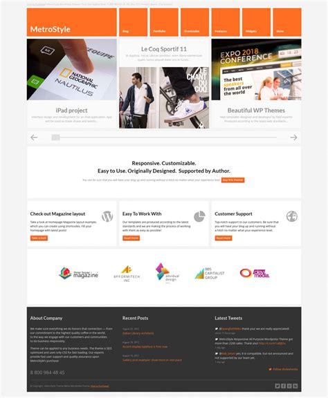 responsive layout wordpress themes showcase of responsive wordpress theme design 26 exles