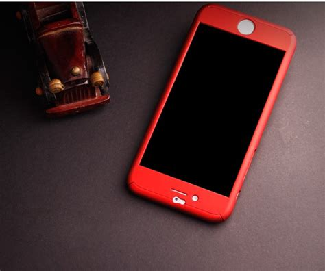 Dijual Hardcase Neo Hybrid 360 Free Tempered Glass Aman 360 degree front back protective skin cases caso for cover iphone 6 iphone 6s