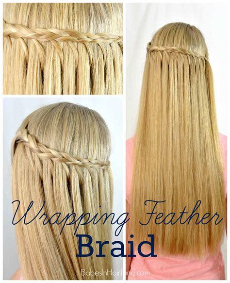 hair braid that looks like feathers feather braid on pinterest ladder braid princess