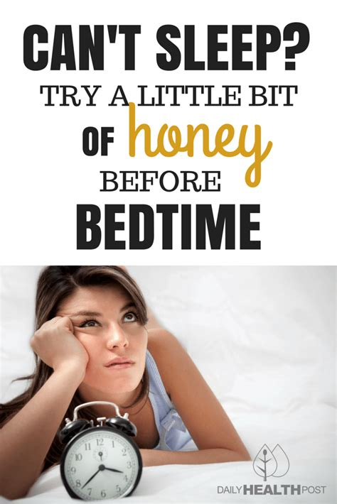 raw honey before bed can t sleep try a little bit of honey before bed