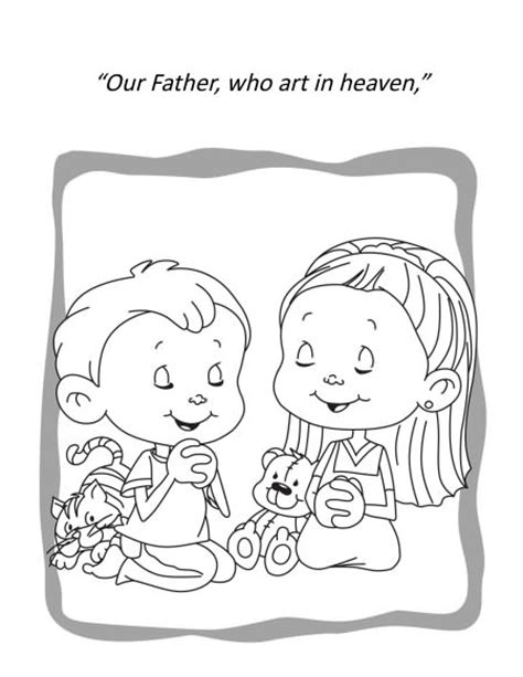 coloring pages for toddlers on prayer free coloring pages of prayer