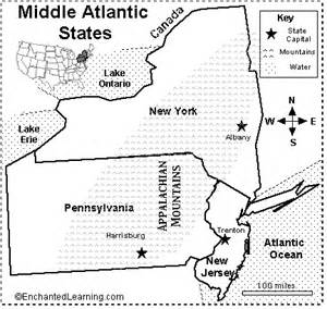 us eastern map quiz middle atlantic states map quiz printout