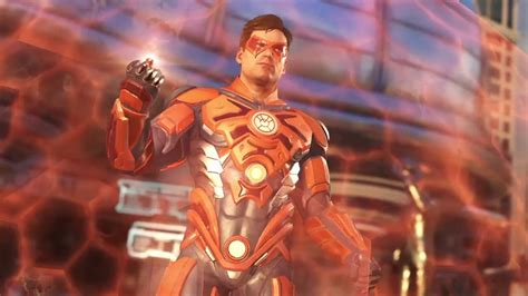 Superman Orange injustice 2 orange lantern vs superman