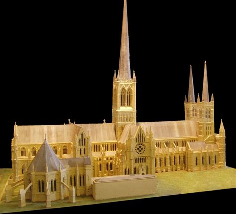 spire lincoln file model with spires lincoln cathedral black