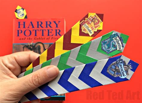 easy harry potter crafts for easy harry potter bookmarks ted s