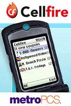 Cellfire Brings Coupons To Mobiles by Cellfire Metropcs To Offer Mobile Coupons Discounts