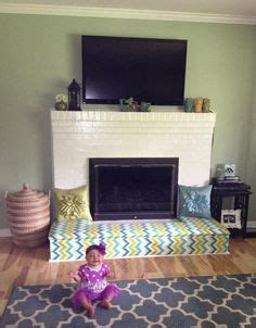 Childproofing A Fireplace by Baby Proofing Fireplace Diy Fireplace Bench Cut Plywood