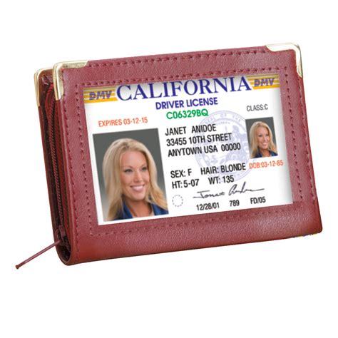 Zip Up Wallet zip up security i d credit card wallet ebay