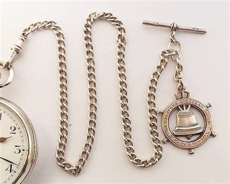 Swiss Army Chain Silver antiques atlas a silver 1930s swiss pocket and chain