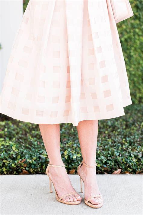 blush midi skirt and crop top brightontheday