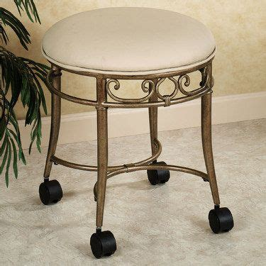 Bathroom Vanity Stools With Wheels Mcclare Vanity Stool Vanity Stool Wheels And Ps