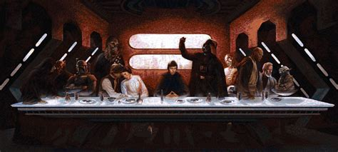 star wars the last star wars last supper mosaic free to download right here