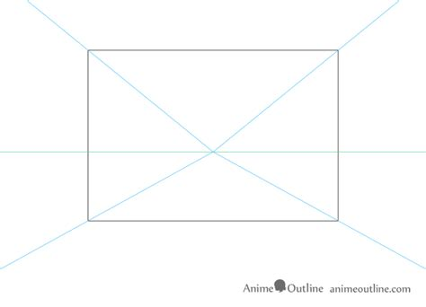 1 point perspective room tutorial one point perspective room drawing tutorial animeoutline