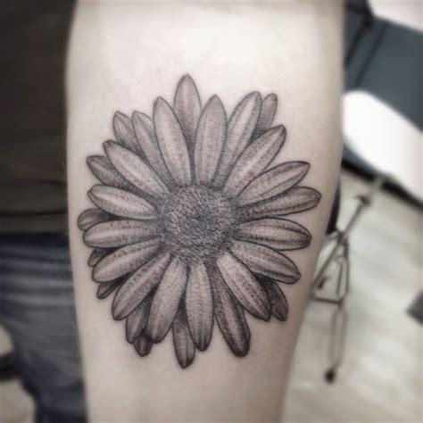 black and grey daisy tattoos 35 cute daisy tattoos
