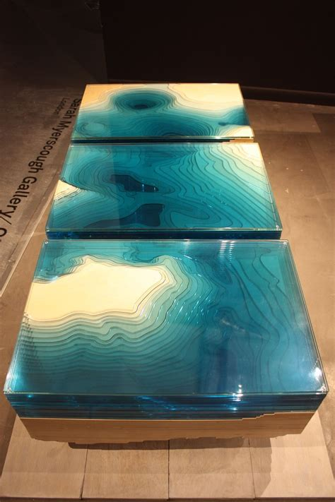 Aqua Color Its Diverse Faces And Uses In Home D 233 Cor Aqua Coffee Table