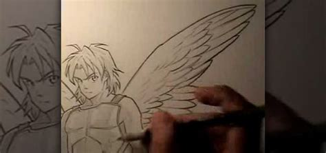 how to draw by markcrilley how to draw wings with anime drawing instructor