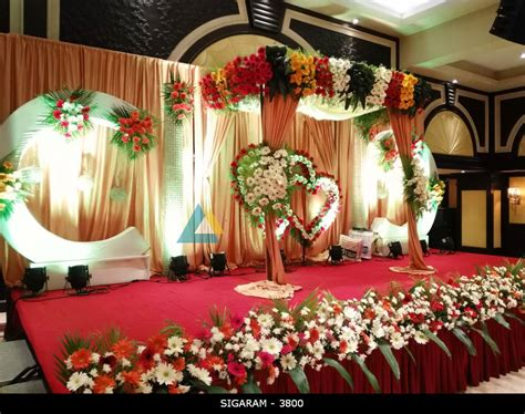Decoration Reception by Reception Decoration At Anandha Inn Hotel Pondicherry