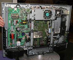 lcd tv repair tutorial   board common symptoms solutions   replace   board