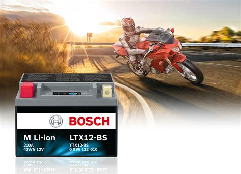 Motorrad Batterie Lithium Ionen Laden by Neue Zweirad Batterie Bosch Mit Innovativer Lithium