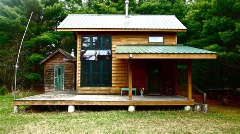 diy tiny houses diy built grid tiny cabin