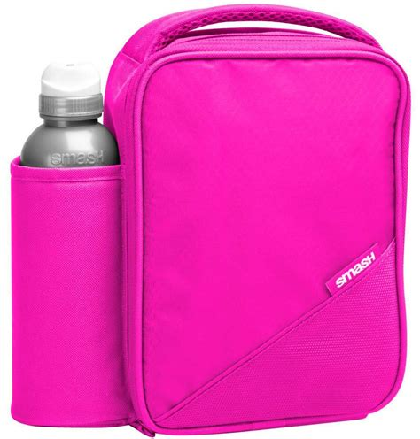 Pink Lunch Set by Smash Pink Lunch Bag Box And Bottle Set Lunch Bag Land