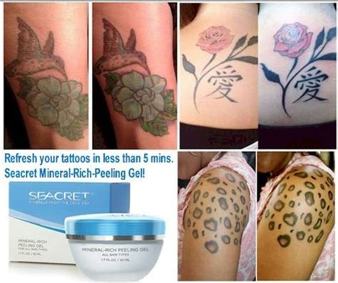 what to do when your tattoo is peeling refresh renew your tattoos with our seacret peeling
