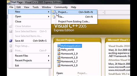 tutorial for visual c beginners visual c tutorial making a simple exe programme