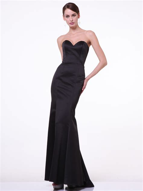 Strapless Sweetheart Mermaid Gown   Sung Boutique L.A.