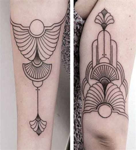 art deco tattoo best 25 deco ideas on glyphs