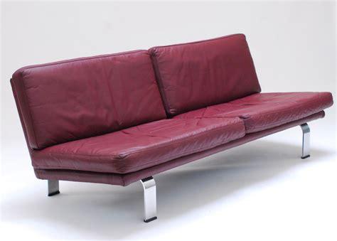 Divano Color Prugna divano in pelle color prugna italia anni 60 in vendita