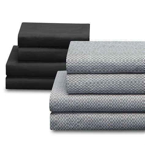 sears bed sheets colormate microfiber two sheet set pack home bed
