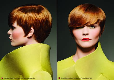 classy short haircut  height    side view