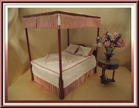 custom canopy bed custom canopy bed by wilson tutfed antique white silk