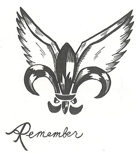 new orleans saints tattoo designs new orleans by sneakyracoon07 on deviantart