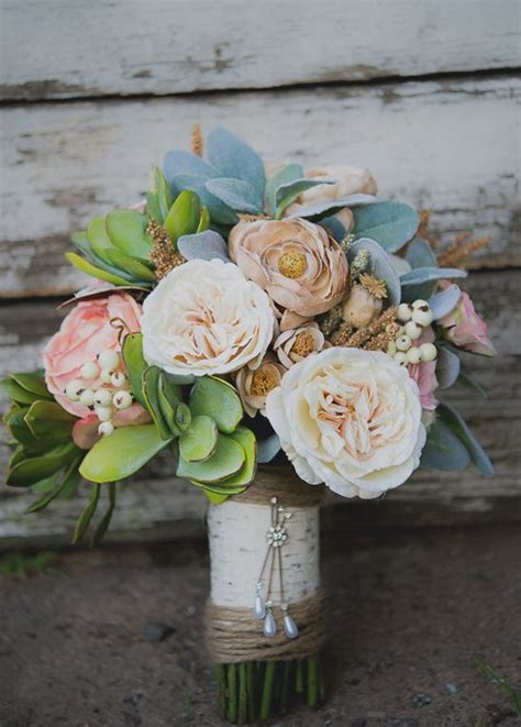 How To Make Wedding Bouquets Using Artificial Flowers by Best 25 Flower Bouquets Ideas On Silk