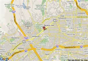 map of beverly california area map of maison 140 beverly beverly