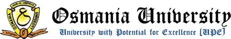 Osmania Mba Admission Procedure by Ou Admission 2017 18 Www Osmania Ac In Application Form