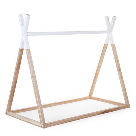 Cool Beds For Kids childhome toddler tipi bed frame 70 x 140 cm minideco