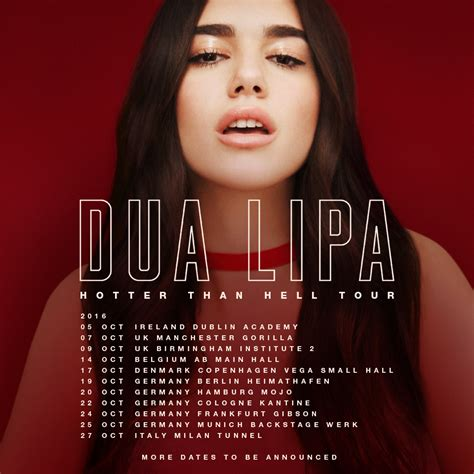 dua lipa concert tickets dua lipa idgaf is out now