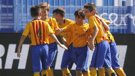 barcelona youth academy the weekend s best goals from the fc barcelona youth