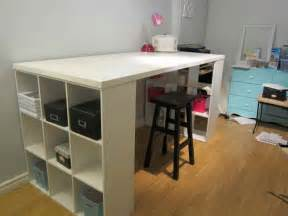Craft Table With Storage Furniture Craft Table With Storage Craft Room Furniture
