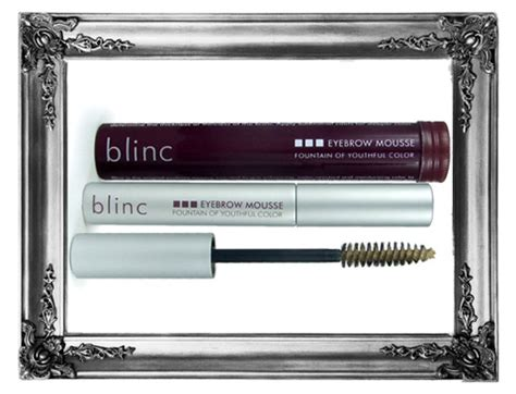 Blinc Me Mascara Expert Review by Blinc Eyebrow Mousse Help For Overplucked Brows Makeup