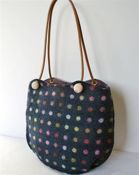 Big Bag Navi Edition navy multi spot jeanie bags