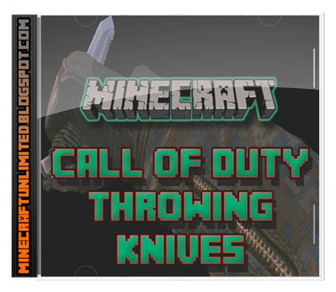 call of duty throwing knife descargar call of duty throwing knives mod para minecraft