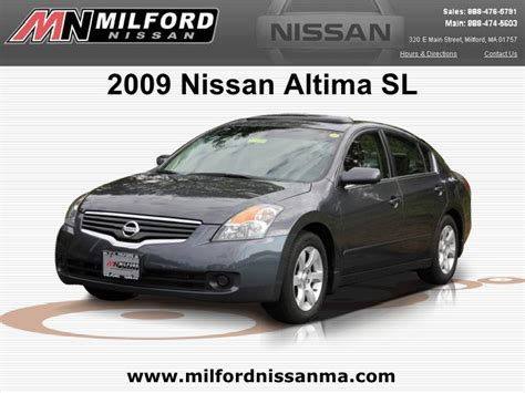 Milford Nissan by Used 2009 Nissan Altima Sl Milford Nissan Worcester Ma