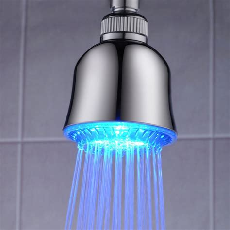 Changing Color Shower by Led Temperature Sensitive Color Change Bathroom Shower