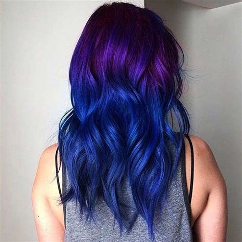 dyeing the hair any colour other than black islamqa 25 amazing blue and purple hair looks blue ombre hair