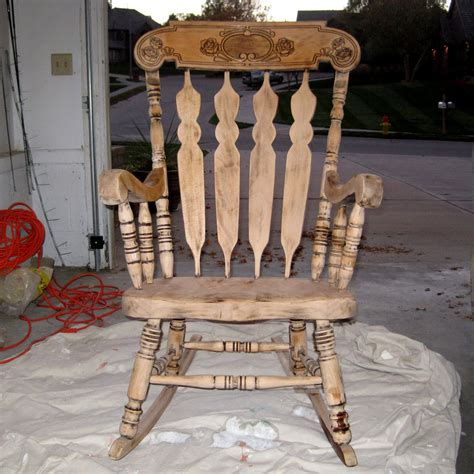 refinish wood rocking chair refinishing a rocking chair between3sisters