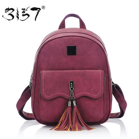 aliexpress buy tassel leather backpack