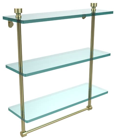glass bathroom shelves with towel bar bathroom glass shelves with towel bar oia glass shelf